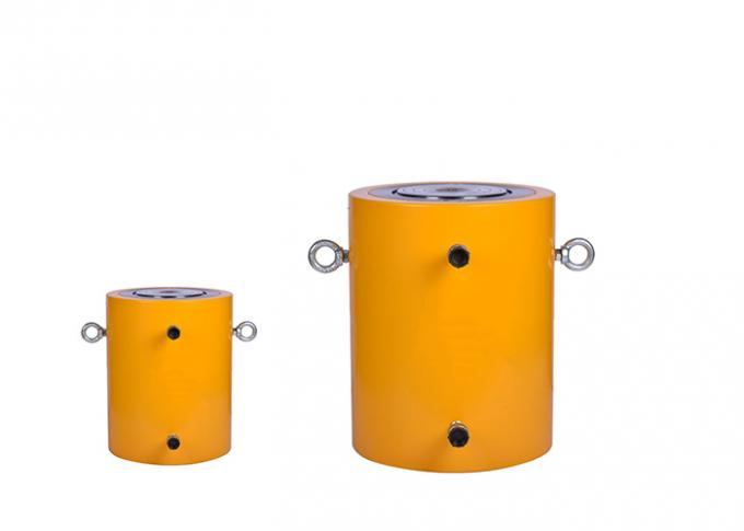 Double Acting Industrial Hydraulic Cylinder , Electric Hydraulic Jack Large Tonnage