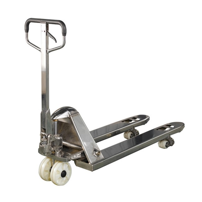 2000Kg High Lifting Hydraulic Pallet Truck Stainless Steel 304 316L  2.5T 3T