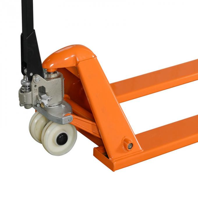 Ultra Low Hydraulic Hand Pallet Jack Two Tons Manual 45 Steel Q235 Material