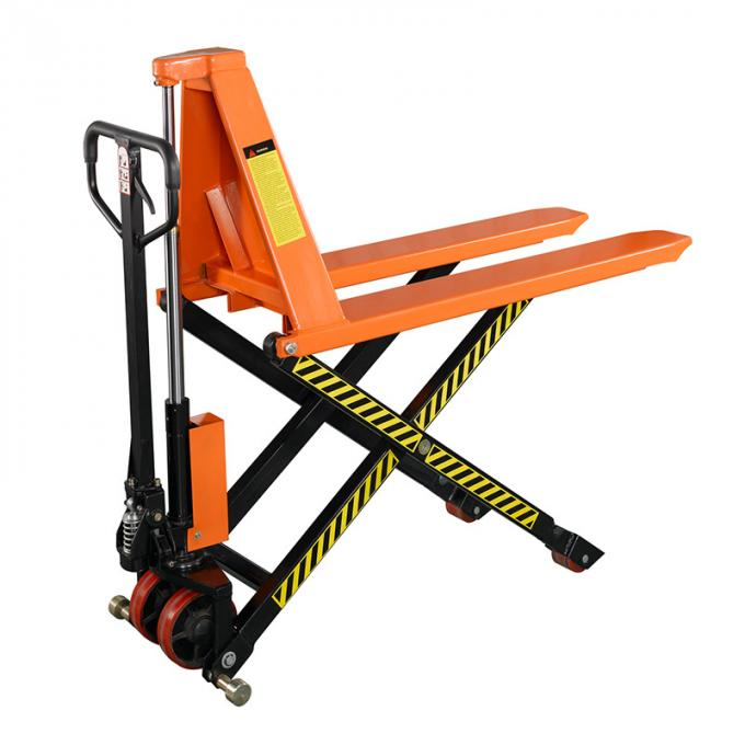 1 Man Hydraulic Power Equipment 2T 1T Hand Operated 715mm Hoisting Stacking