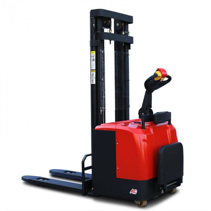 1000 - 2000 Kg Hydraulic Hand Pallet Truck Forklift  900-1070 Mm Fork Standing Operation