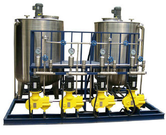 China Automatic Fluid Control Equipments , Addition Chemical Dosing System Locally Remotely Controlling supplier