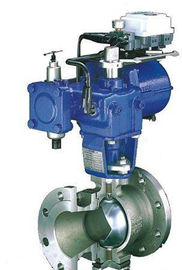 China Throttling Instrumentation Control Valves , Controlling Flow V Type Ball Valve supplier