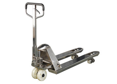 China 2000Kg High Lifting Hydraulic Pallet Truck Stainless Steel 304 316L  2.5T 3T supplier