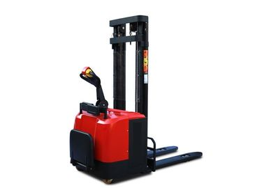 China 1000 - 2000 Kg Hydraulic Hand Pallet Truck Forklift  900-1070 Mm Fork Standing Operation supplier
