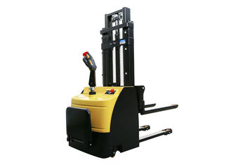 China Hand Hydraulic Pallet Truck Trolley Double Cylinders Rechargeable 1T 1.5T 2T DC24V Industrial supplier