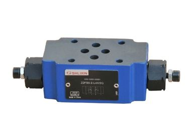 China Plate Throttle Hydraulic Inline Flow Control Valve 80 L/Min 315 Bar 6 Superimposed  L4X Sandwich supplier