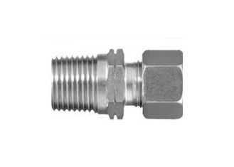 China Stud Couplings Hydraulic Pipe Fittings NPT American Taper Pipe Thread GE - NPT Series supplier