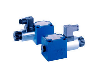 China Durable Hydraulic Control Valve Directional Poppet Valve With Solenoid Operation supplier