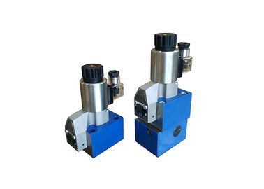 China Super Hydraulic Poppet Valve , Hydraulic Control Valve With Solenoid Actuation supplier
