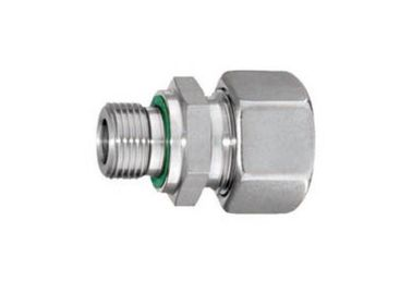 China Hose Hydraulic Pipe Fittings Stainless Steel 304 Couplings G Thread Industrial distributor