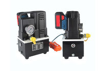 Portable Pump Station , Electric Hydraulic Unit Mini Ultra High Pressure Hydraulic Pump Station 18V Rechargeable