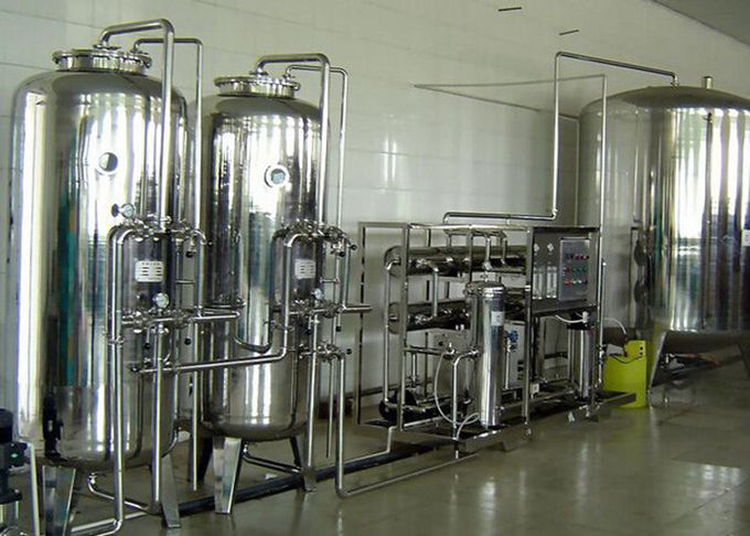 Stainless Steel Fluid Control Equipments , RO Reverse Osmosis Pure Water Equipment
